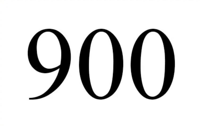 Änglanummer 900