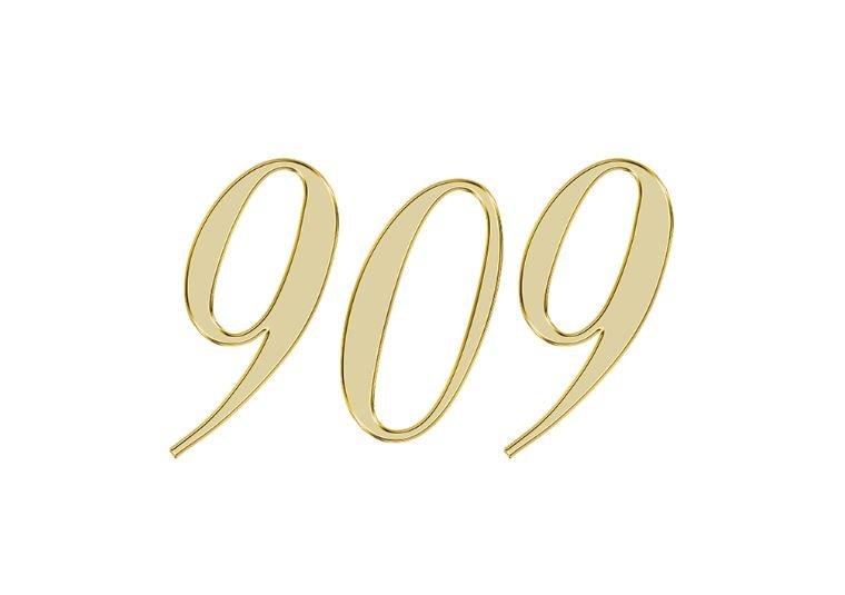 Änglanummer 909
