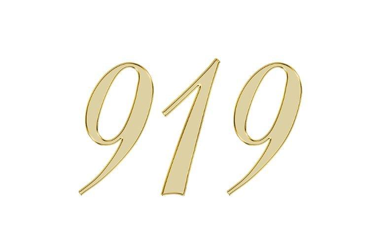 Änglanummer 919