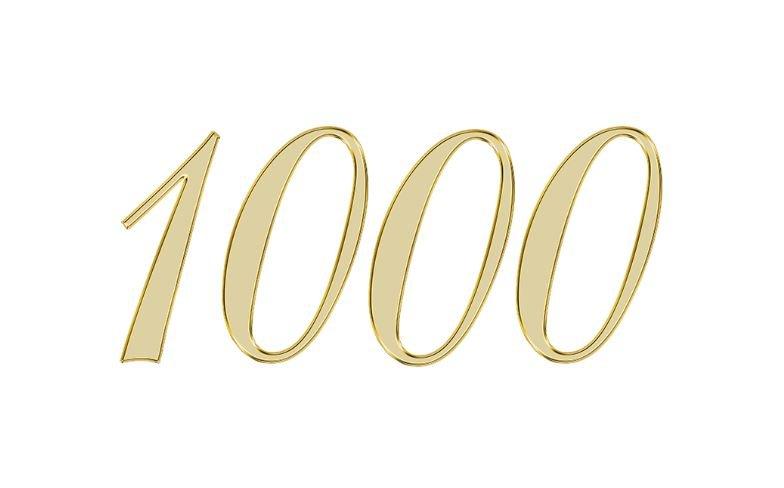 Änglanummer 1000