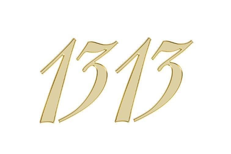 Änglanummer 1313