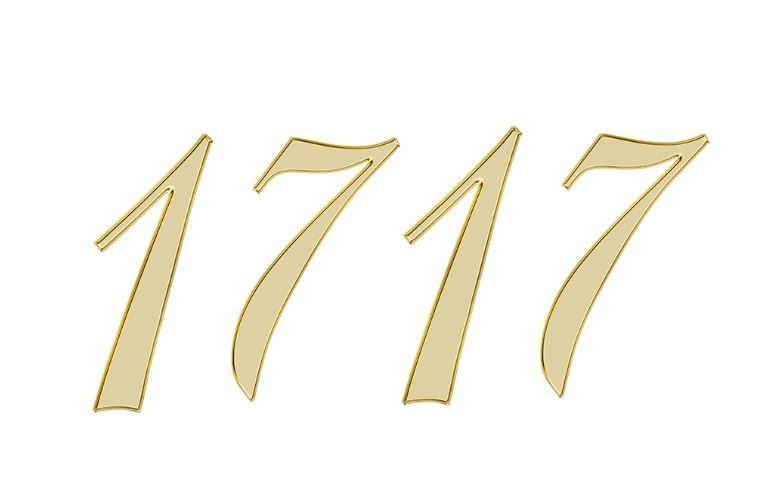 Änglanummer 1717