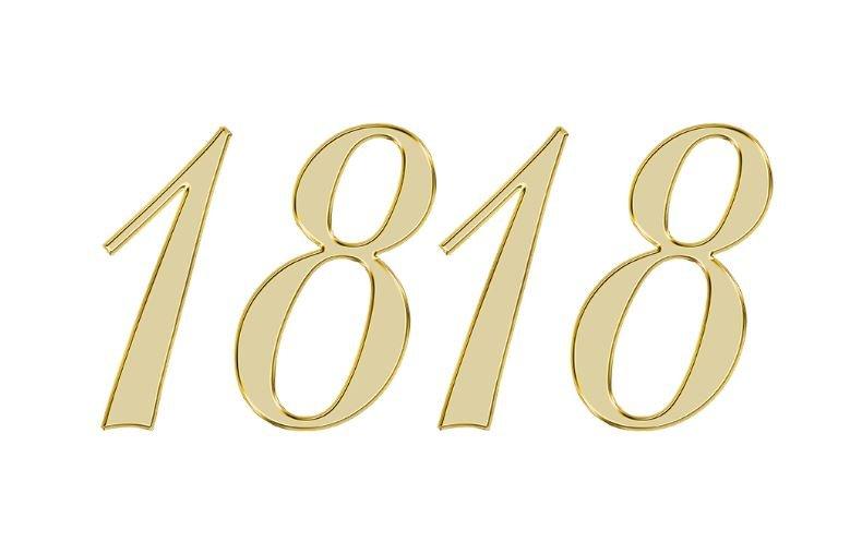 Änglanummer 1818