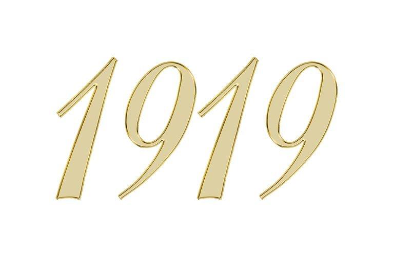 Änglanummer 1919