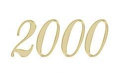 Änglanummer 2000: Vad betyder det?