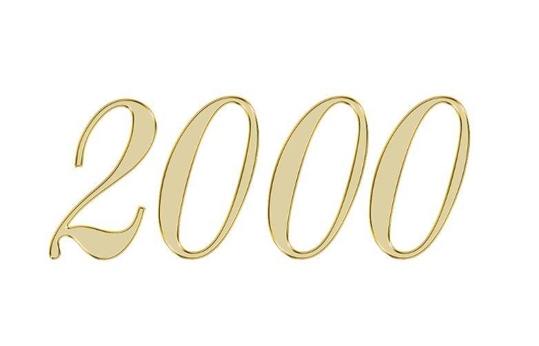 Änglanummer 2000
