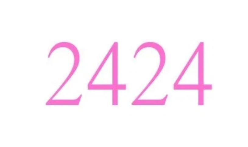 Änglanummer 2424