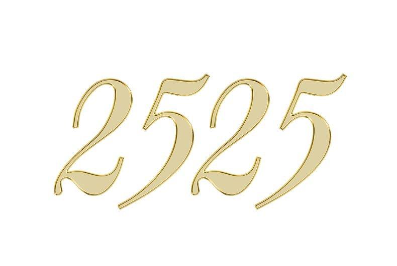 Änglanummer 2525