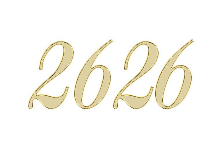Änglanummer 2626