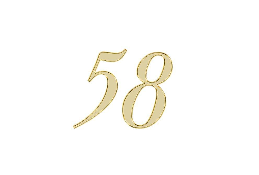Änglanummer 58