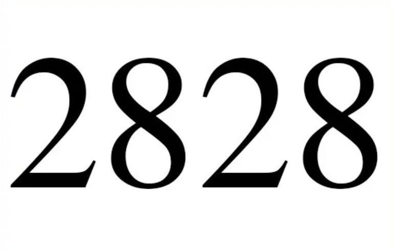 Änglanummer 2828