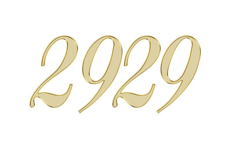 Änglanummer 2929