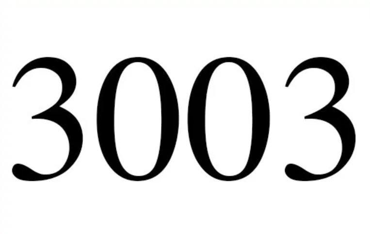 Änglanummer 3003