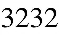 Änglanummer 3232: Vad betyder det?