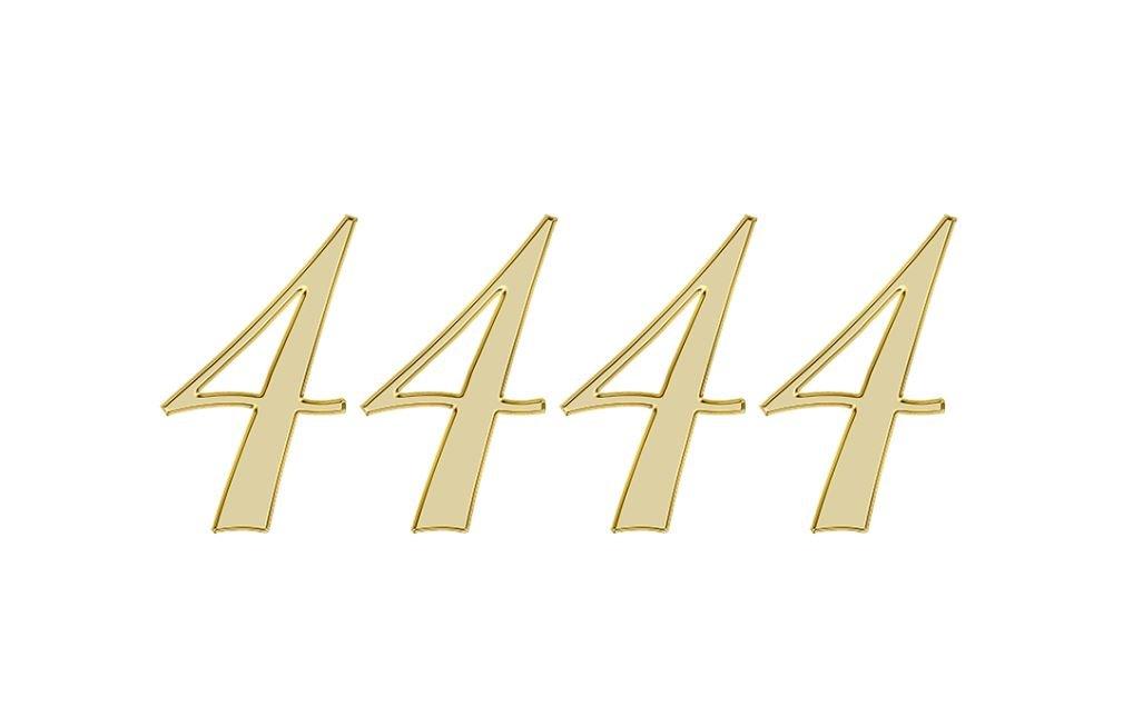 Änglanummer 4444