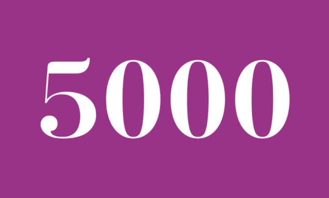 Änglanummer 5000