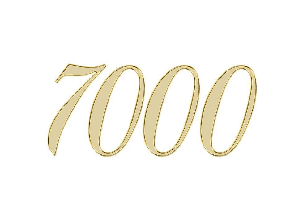 Änglanummer 7000