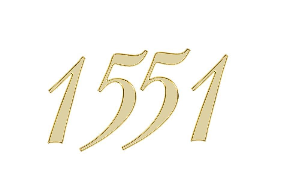 Änglanummer 1551