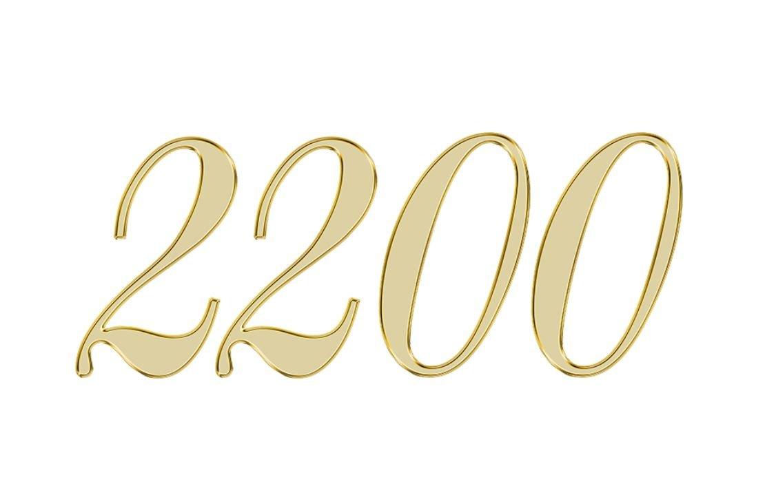 Änglanummer 2200